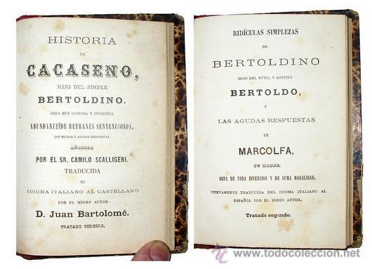Libros antiguos: 1865 - HISTORIA de BERTOLDO BERTOLDINO Y CACASENO - Laminas - Foto 4 - 22398507