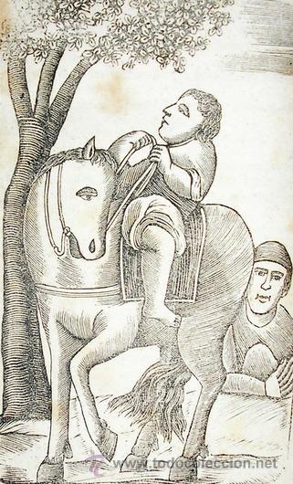 Libros antiguos: 1865 - HISTORIA de BERTOLDO BERTOLDINO Y CACASENO - Laminas - Foto 3 - 22398507