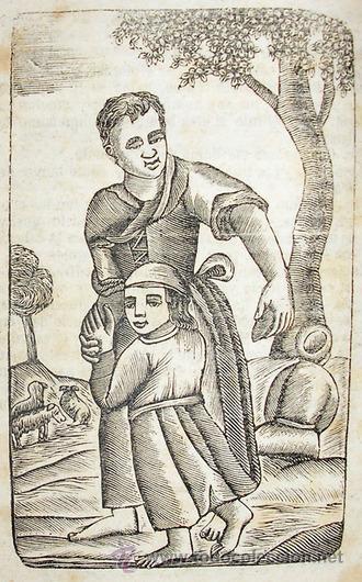Libros antiguos: 1865 - HISTORIA de BERTOLDO BERTOLDINO Y CACASENO - Laminas - Foto 2 - 22398507