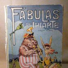 Libros antiguos: MARAVILLOSO LIBRO DE FABULAS, 1933, FABULAS DE IRIARTE, EDITORIOAL ARALUCE, 1ª EDICION. Lote 22458614