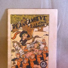 Libros antiguos: CUENTO, BLANCANIEVE O LA MALA MADRASTRA, TESORO DE CUENTOS INFANTILES, EL GATO NEGRO, ORIGINAL. Lote 22547380