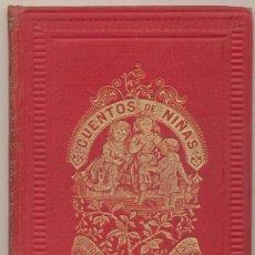 Libros antiguos: CUENTOS DE NIÑAS POR MARÍA DEL PILAR SINUÉS.BASTINOS EDITOR.BARCELONA 1892.(190 PP. ADORNADA CON. Lote 23624638