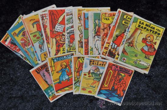 LOTE DE 24 CUENTOS PEQUEÑOS COLECCION GACELA. ANTIGUOS. HAY DE 2 MEDIDAS DISTINTAS. (Libros Antiguos, Raros y Curiosos - Literatura Infantil y Juvenil - Cuentos)