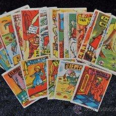 Libros antiguos: LOTE DE 24 CUENTOS PEQUEÑOS COLECCION GACELA. ANTIGUOS. HAY DE 2 MEDIDAS DISTINTAS.. Lote 56159806