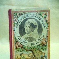 Libros antiguos: LIBRO, CUENTOS DE NIÑAS, MARIA DEL PILAR DE MARCO, 8º EDICION, CUENTO, 1913. Lote 24595081