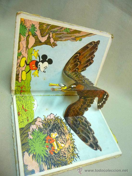 Libros antiguos: CUENTO TROQUELADO , MINI Y EL PATO MOBY, EDITORIAL MOLINO, 1934, ILUSTRACION SORPRESA - Foto 2 - 24566661