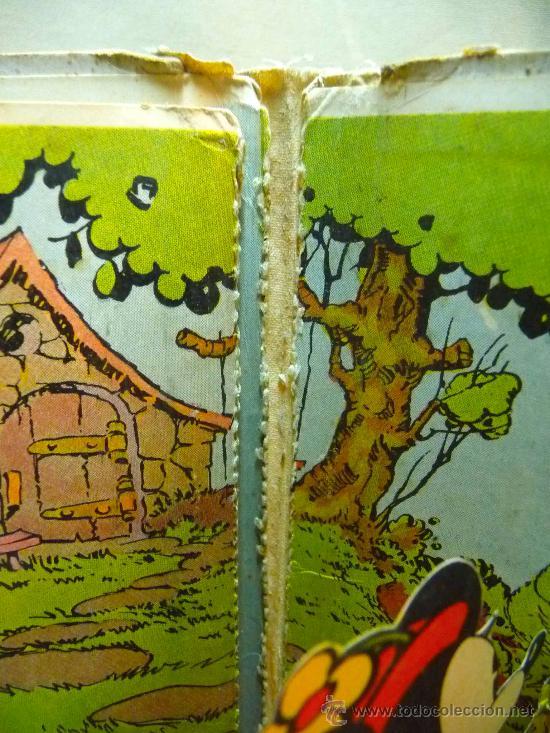 Libros antiguos: CUENTO TROQUELADO , MINI Y EL PATO MOBY, EDITORIAL MOLINO, 1934, ILUSTRACION SORPRESA - Foto 7 - 24566661