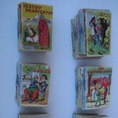 Libros antiguos: CUENTOS DE CALLEJA: LOTE DE 142 EJEMPLARES ORIGINALES DE ÉPOCA EN . TAMAÑO PEQUEÑO.. Lote 24741959