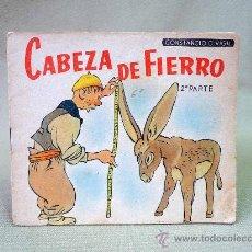 Libros antiguos: CUENTO, CABEZA DE FIERRO, 2º PARTE, CONSTANCIO C VIGIL EDITORIAL, 1920 S. Lote 25370209