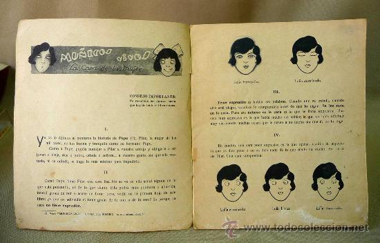 Libros antiguos: LIBRO, CALLEJA, MUÑECOS VIVOS, LA CARA DE LA MUJER, LIBROS DE MAÑA Y RISA, 2º SERIE, Nº 4, 1929. - Foto 2 - 25545301