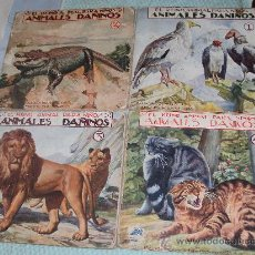 Libros antiguos: EL REINO ANIMAL PARA NIÑOS - ANIMALES DAÑINOS. Lote 26542382