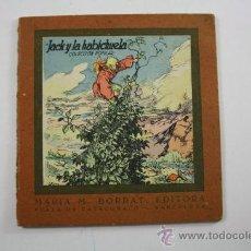 Libros antiguos: CUENTO ANTIGUO: JACK Y LA HABICHUELA, COLECC. POPULAR, EDITORIAL LUCERO. Lote 27333387