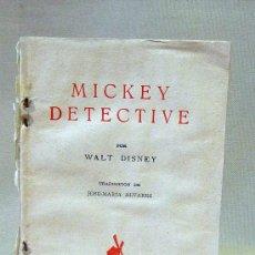 Libros antiguos: CUENTO, MICKEY EN EL CASTILLO MALANDRIN, WALT DISNEY, MOLINO. Lote 27508595