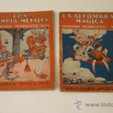 Libros antiguos: COLECCIÓN MARUJITA. EDICIONES MOLINO. LOTE DE 2 NÚMEROS: 4 Y 64. AÑOS 1930S. Lote 27628630