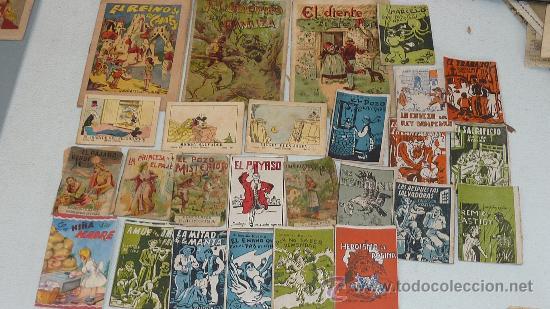 LOTE DE 26 CUENTOS PEQUEÑOS VARIADOS ANTIGUOS. JUNCOSA, CALLEJAS, MICKEY... (Libros Antiguos, Raros y Curiosos - Literatura Infantil y Juvenil - Cuentos)