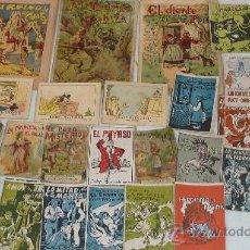 Libros antiguos: LOTE DE 26 CUENTOS PEQUEÑOS VARIADOS ANTIGUOS. JUNCOSA, CALLEJAS, MICKEY.... Lote 57741605
