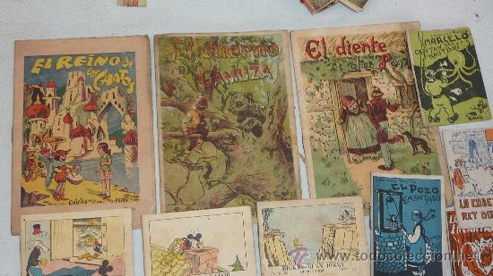 Libros antiguos: lote de 26 cuentos pequeños variados antiguos. juncosa, callejas, mickey... - Foto 2 - 57741605
