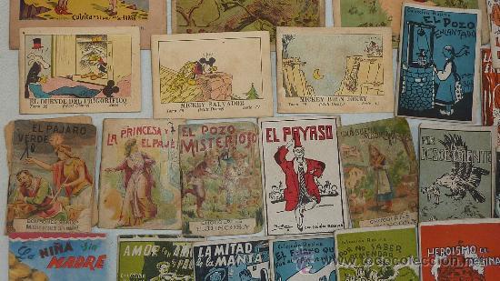 Libros antiguos: lote de 26 cuentos pequeños variados antiguos. juncosa, callejas, mickey... - Foto 3 - 57741605