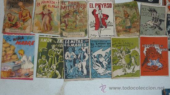 Libros antiguos: lote de 26 cuentos pequeños variados antiguos. juncosa, callejas, mickey... - Foto 4 - 57741605