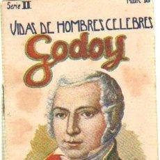 Libros antiguos: VIDAS DE HOMBRES CELEBRES (GODOY).CUENTOS DE SOPENA. SERIE 2 NUMERO 18. A-CUENTOSCHICOS-284. Lote 27983114