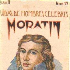 Libros antiguos: VIDAS DE HOMBRES CELEBRES (MORATIN).CUENTOS DE SOPENA. SERIE 2 NUMERO 19. A-CUENTOSCHICOS-285. Lote 27983126
