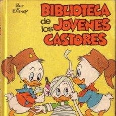 Libros antiguos: BIBLIOTECA DE LOS JOVENES CASTORES DE WALT DISNEY - N º 4. Lote 28082951