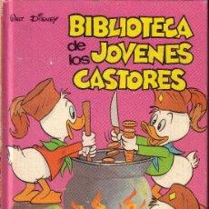 Libros antiguos: BIBLIOTECA DE LOS JOVENES CASTORES DE WALT DISNEY - N º 13. Lote 28082959