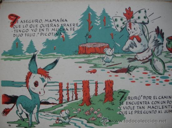 Libros antiguos: MI CASITA ES UN CORRAL.PICOTINA Y SUS POLLITOS.12 PG.24X17.5 - Foto 2 - 28045189