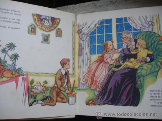 Libros antiguos: lLOS PASTORCILLOS.ANGEL PUIGMIQUEL.DIBUJO FREIXAS.1943.31 PG - Foto 2 - 28045217