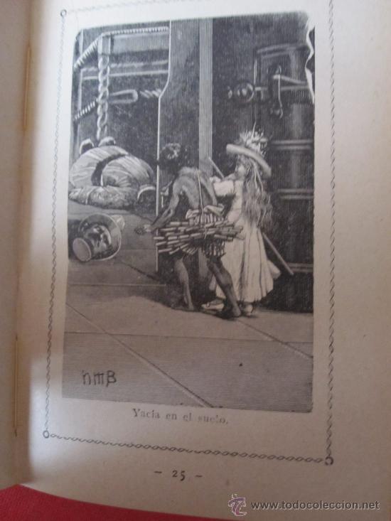 Libros antiguos: CUENTO DE CALLEJA, : EL NEGRITO Y LA PASTORA, CARTONE ORIGINAL DECORADO - Foto 4 - 28209443