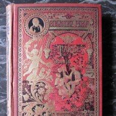 Libros antiguos: BONITO LIBRO DE CUENTOS DE CALLEJA: TARDES DE LA GRANJA, ENCUADERNACION EDITORIAL EN TELA ROJA ,. Lote 28277714