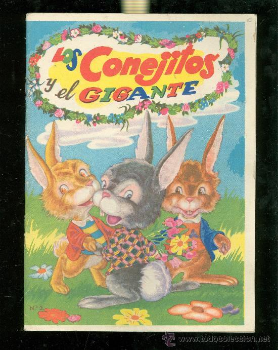 LOS CONEJITOS Y EL GIGANTE. COLECCION LL. EDITORIAL FHER. (Libros Antiguos, Raros y Curiosos - Literatura Infantil y Juvenil - Cuentos)