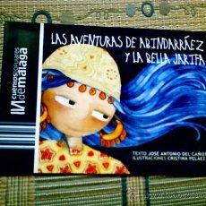 Libros antiguos: LAS AVENTURAS DE ABINDARRAEZ Y LA BELLA JARIFA, DE JOSE ANTONIO DEL CAÑIZO/ILUST DE CRISTINA PELAEZ). Lote 28572914