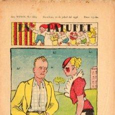 Libros antiguos: EN PATUFET Nº1684 10 JULIOL 1936. Lote 28749152