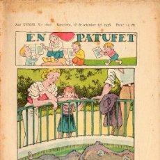 Libros antiguos: EN PATUFET Nº1692 18 SETEMBRE 1936. Lote 28749194