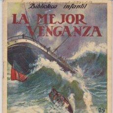 Libros antiguos: BIBLIOTECA INFANTIL Nº 25. LA MEJOR VENGANZA. RAMON SOPENA (16X12). Lote 28976232
