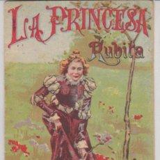 Alte Bücher - Cuentos para niños nº 110. La Princesa Rubita. Saturnino Calleja.(14,5x10,5) - 28981131