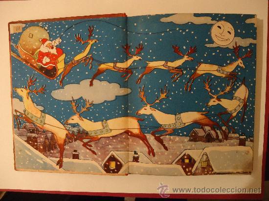 Libros antiguos: CUENTO INFANTIL 'PAPA NOEL' PELICULA DE DIBUJOS POR WALT DISNEY. MADRID 1935 - Foto 2 - 29480372