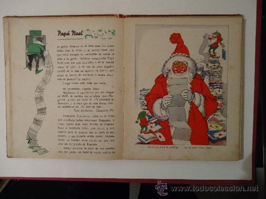 Libros antiguos: CUENTO INFANTIL 'PAPA NOEL' PELICULA DE DIBUJOS POR WALT DISNEY. MADRID 1935 - Foto 3 - 29480372