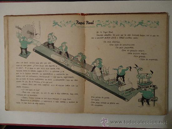 Libros antiguos: CUENTO INFANTIL 'PAPA NOEL' PELICULA DE DIBUJOS POR WALT DISNEY. MADRID 1935 - Foto 4 - 29480372