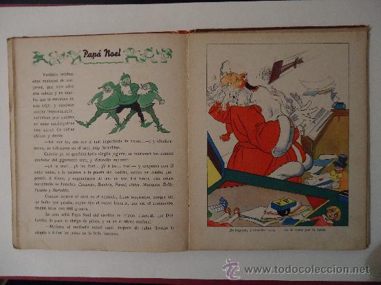 Libros antiguos: CUENTO INFANTIL 'PAPA NOEL' PELICULA DE DIBUJOS POR WALT DISNEY. MADRID 1935 - Foto 5 - 29480372