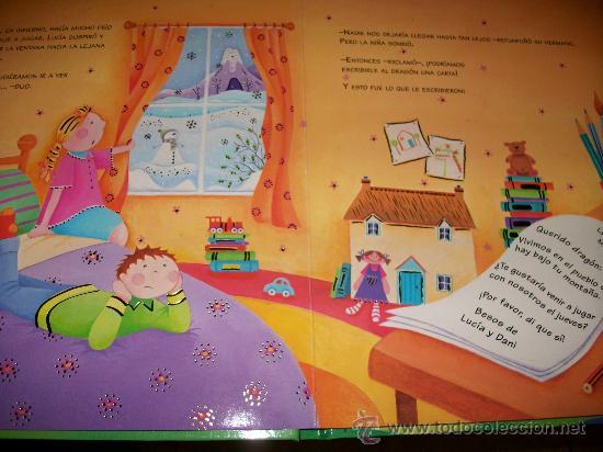 Libros antiguos: LIBRO CUENTO QUERIDO DRAGON - 9 PAGINAS - TAPA DURA - TODO COLOR - INFANTIL - TODOLIBRO - NUEVO - Foto 3 - 29725689