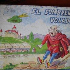 Libros antiguos: CUENTOS ILUSTRADOS MARISOL.ED ROMA.Nº10.EL SOMBRERO VOLADOR. Lote 29986077