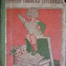 Libros antiguos: SAMANIEGO.FABULAS LITERARIAS.172 PG.SANTIAGO RODRIGUEZ BURGOSESCUELA.. Lote 30000727