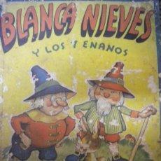 Libros antiguos: BLANCA NIEVES Y LOS 7 ENANOS.CUENTO DE LOS HNOS GRIMM ILUSTRACIONES DE RODOLFO DAN.. Lote 30020719