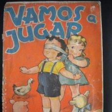 Libros antiguos: VAMO A JUGAR.EDITORIAL SIGMAR,RODOLFO DAN.. Lote 30065539