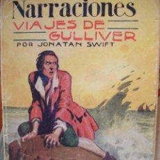 Libros antiguos: VIAJES DE GULLIVER.J SWIFT.1929.8ª.75 PG. Lote 30156316