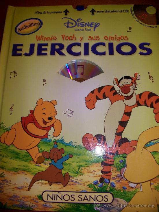 AUDIOLIBRO WINNIE POOH Y SUS AMIGOS - NIÑOS SANOS - LIBRO + CD - DISNEY - TAPA DURA - ILUSTRACIONES (Libros Antiguos, Raros y Curiosos - Literatura Infantil y Juvenil - Cuentos)