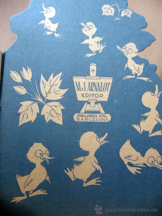 Libros antiguos: CUENTO, BEBA HOLANDA, TROQUELADO, TEXTO DE FRED LAHER, DIBUJOS M. JIMENEZ ARNALOT, 1950S - Foto 3 - 30713261