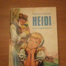 Libros antiguos: LIBRO DE HEIDI - JUANA SPYRI- EDITORIAL VASCO . Lote 31068416